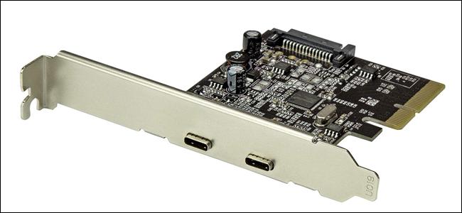 USB-C, PCI-E, carte mère, carte d'extension