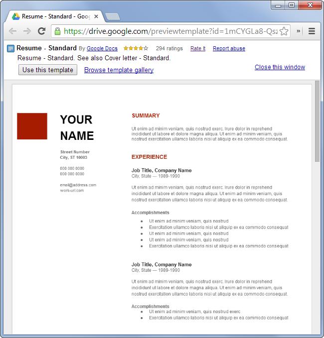 modèles-de-CV-gratuits-sans-microsoft-office