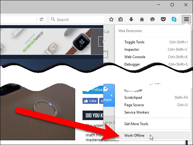 04_selecting_work_offline_on_developer_menu