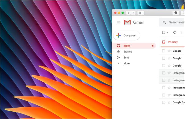Aucune section Google Meet ou Hangouts Chat dans la barre latérale de Gmail