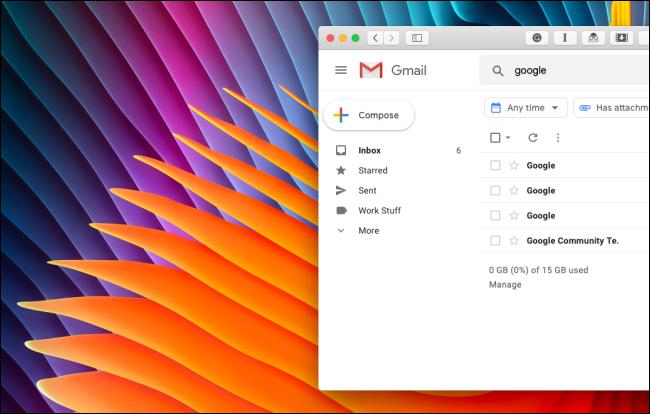 Nettoyer la barre latérale de Gmail sans Google Hangouts ni la section Google Meet