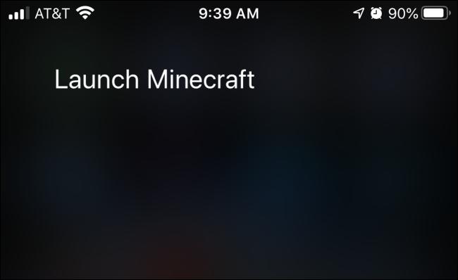 Utilisation des commandes vocales Siri pour lancer une application