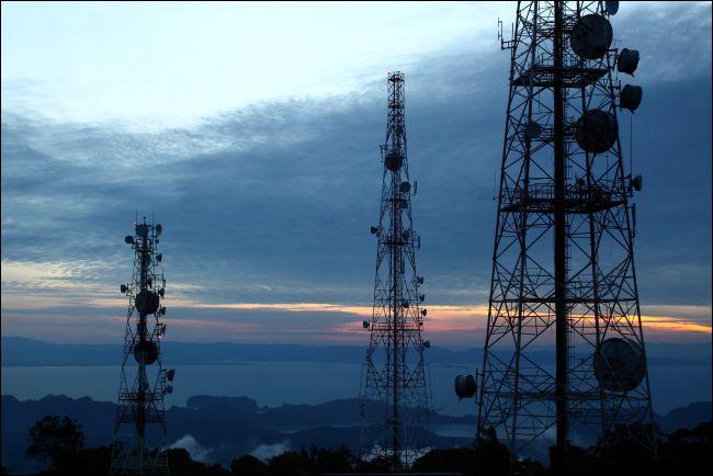 Tours de communications cellulaires