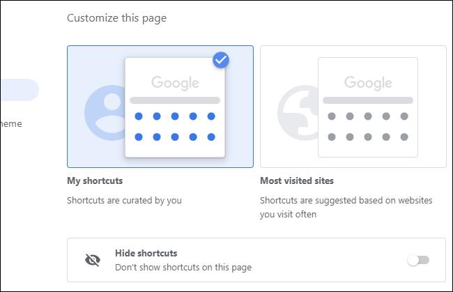 Choisir les raccourcis qui apparaissent sur la page Nouvel onglet de Chrome.