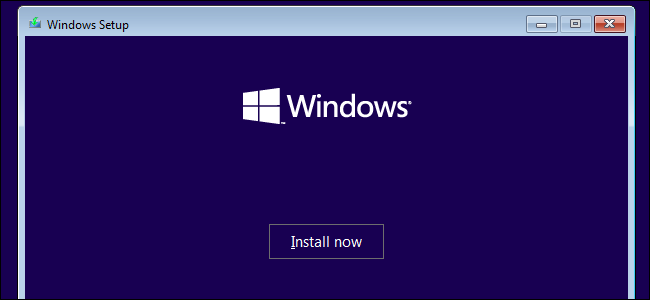 Installation de Windows 10 sur un système Windows 7.