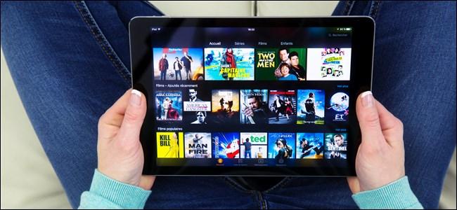 Amazon Prime Video sur tablette