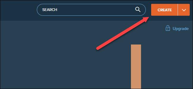 site bit.ly avec flèche pointant pour créer le bouton.