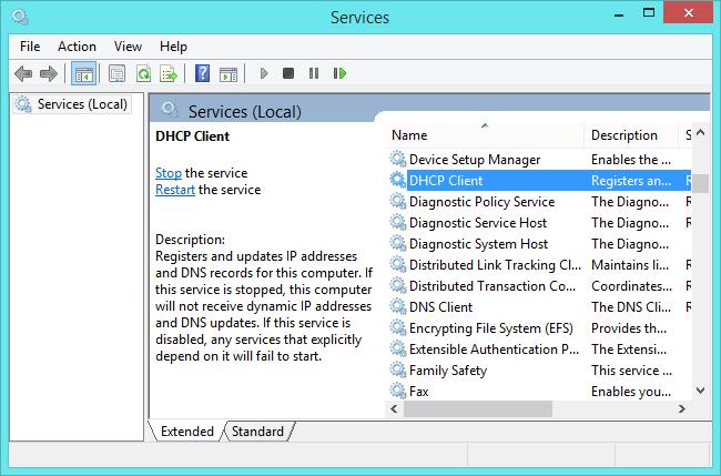 outil de services windows 8.1