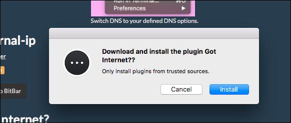 bitbar-install-got-internet
