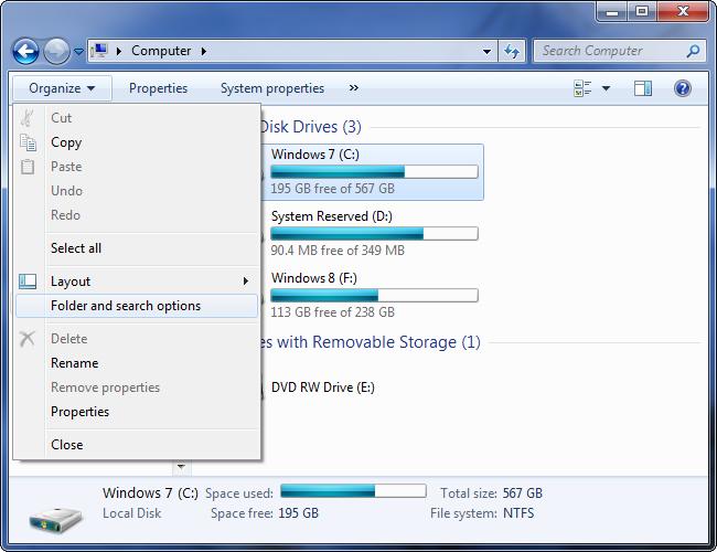 ouvrir-dossier-options-dialogue-sur-windows-7