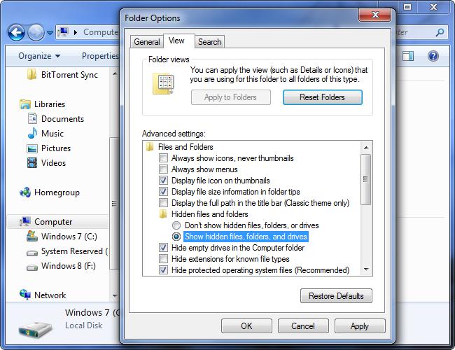 afficher-fichiers-cachés-et-dossiers-sur-windows-7