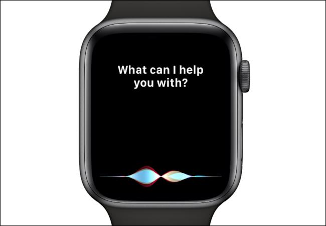 Siri demande, en quoi puis-je vous aider?