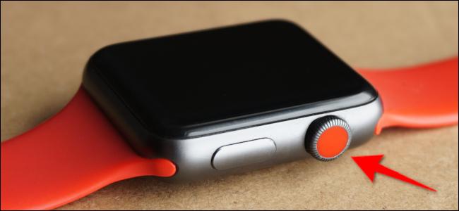Couronne numérique Apple Watch