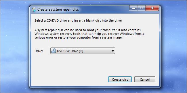 disque-de-réparation-du-système-windows-7