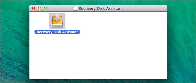assistant de disque de récupération mac-os-x
