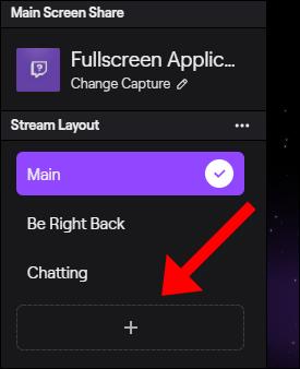 """Sélectionnez une option dans le """"Disposition du flux"""" menu."""