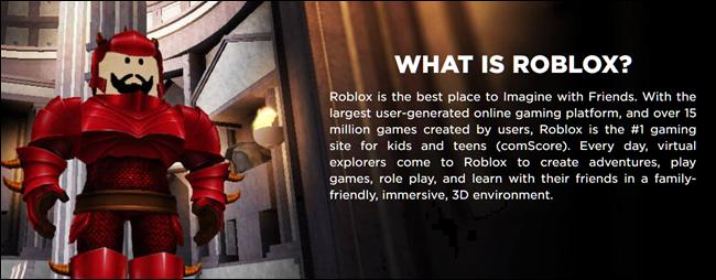 Qu'est-ce que Roblox?