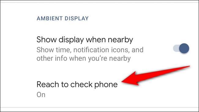Google Pixel 4 Sélectionnez Audience pour vérifier le téléphone