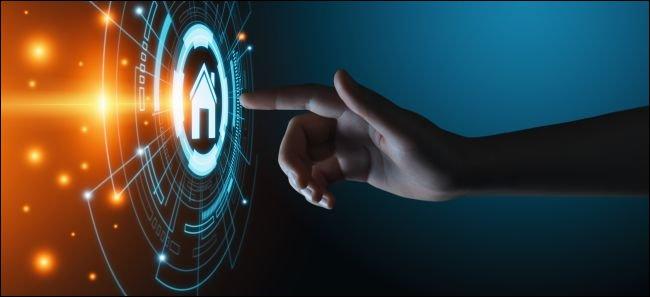 Rendu d'artiste du système de contrôle d'automatisation smarthome