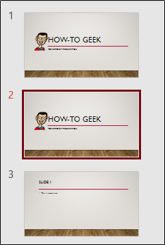 Diapositive dupliquée dans PowerPoint