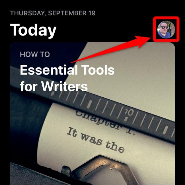 Apple iPhone iOS 13 App Store Sélectionnez un avatar