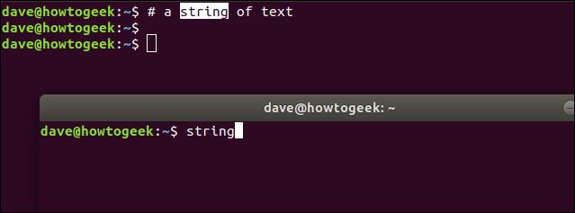 Ctrl + Maj + V dans une fenêtre de terminal