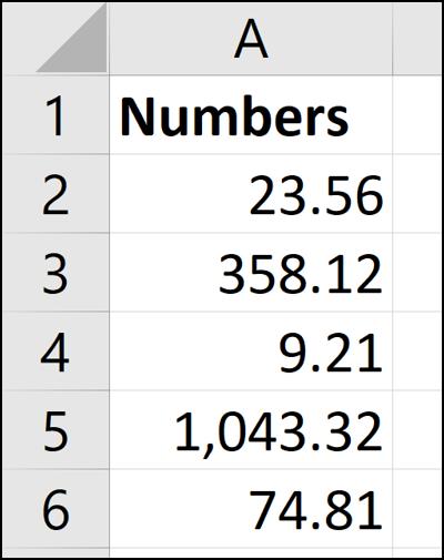 Nombres convertis par texte en colonnes