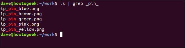 ls |  grep _pin_ dans une fenêtre de terminal
