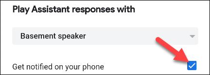 être notifié par téléphone