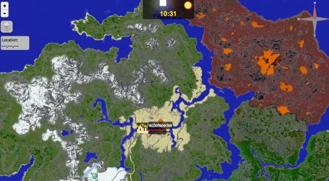 Minecraft_Dynamic_Map