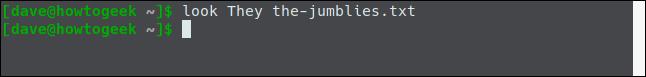 regardez They the-jumblies.txt dans une fenêtre de terminal.