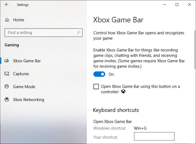 La fenêtre Paramètres> Jeux> Xbox Game Bar.» width=»650″ height=»479″ onload=»pagespeed.lazyLoadImages.loadIfVisibleAndMaybeBeacon(this);» onerror=»this.onerror=null;pagespeed.lazyLoadImages.loadIfVisibleAndMaybeBeacon(this);»/></p> <p>Localisez la fenêtre «Performance», qui est près du coin inférieur gauche de l'écran de superposition de la barre de jeu par défaut.  Si vous ne le voyez pas, cliquez sur le bouton «Performance» dans le menu de la barre de jeu en haut de l'écran pour l'afficher.</p> <p><img loading=