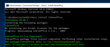 Comment apporter des installations apt-get de style Linux à Windows avec Chocolatey