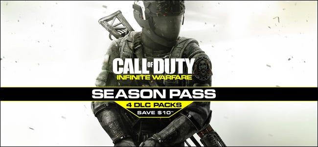 """Annonce pour un """"Appel du devoir"""" Season Pass comprenant quatre packs DLC."""