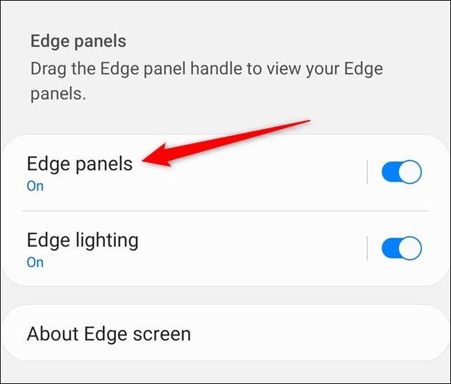 """Samsung Galaxy S20 Tap """"Panneaux de bord"""""""