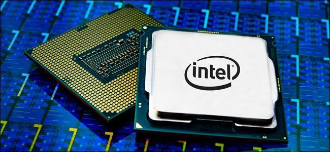 Package de processeur Intel Core i9.