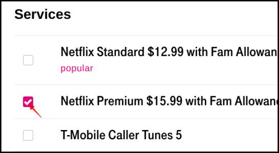 T-Mobile Supprimer Netflix