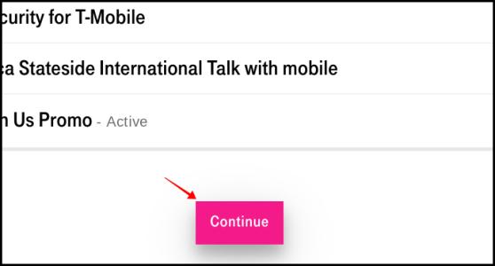 Confirmation d'annulation de T-Mobile Netflix