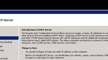 Comment configurer DHCP dans Windows Server 2008 R2