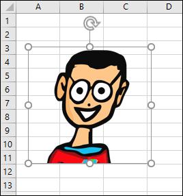 Objet sélectionné dans Excel