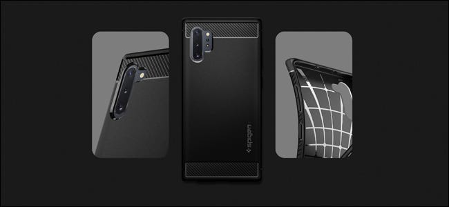 Une coque Spigen pour Samsung Galaxy Note 10.