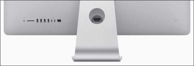 Une E / S Apple iMac 2019.