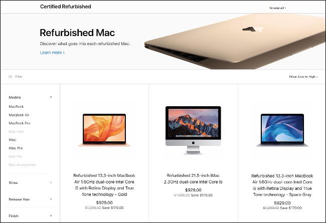 Le Mac Store rénové d'Apple.
