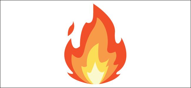 Emoji de feu