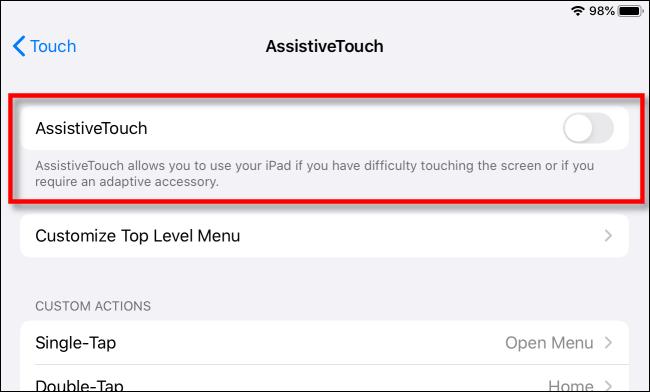 """Activer / désactiver """"Contact Assistance."""""""
