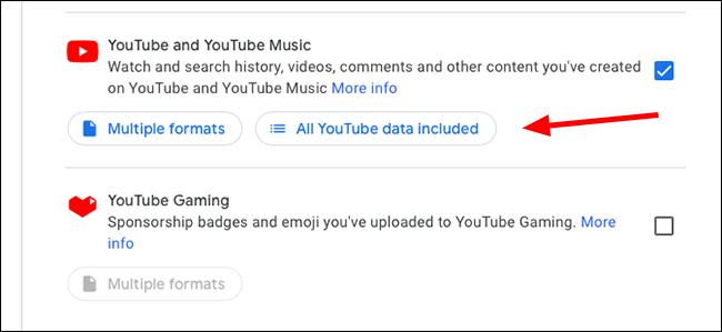 google emporter tout youtube