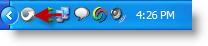 icône de la barre d'état système portableapps