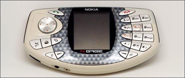 Un appareil Nokia N-Gage.