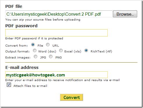 Convertisseur PDF gratuit