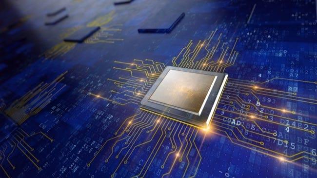 Concept de processeur de processeurs d'ordinateur central